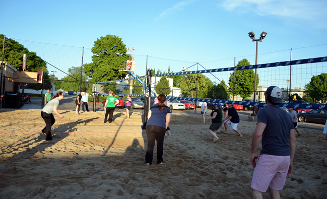 Volleyball Memory Lanes